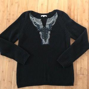 Gibson Latimer oversized embellished sweater